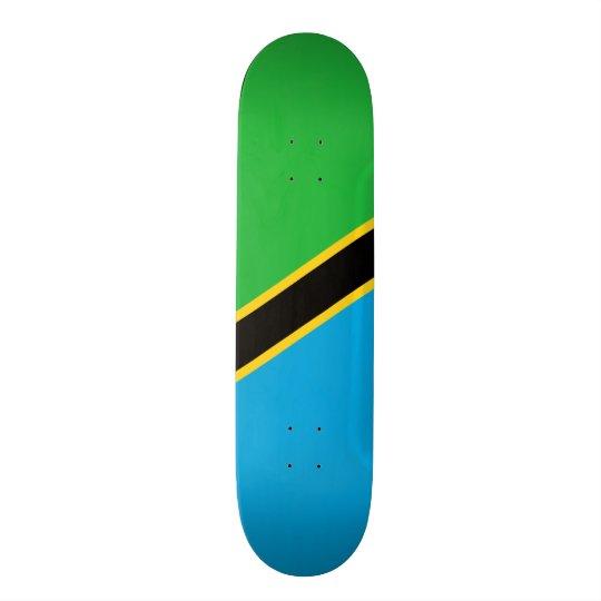 Flag of Tanzania Skateboard Deck