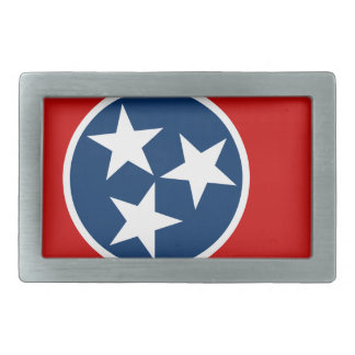 Flag Of Tennessee Belt Buckle