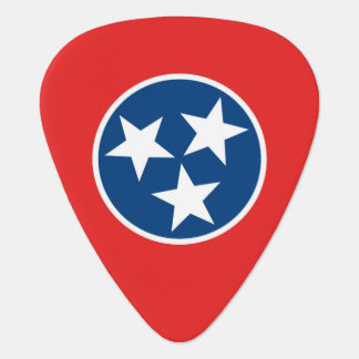 Flag of Tennessee Guitar Pick