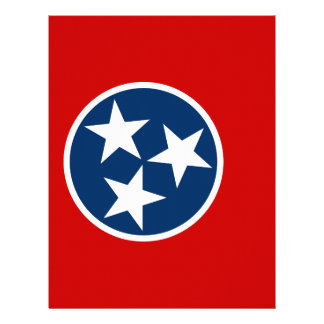 Flag Of Tennessee Letterhead