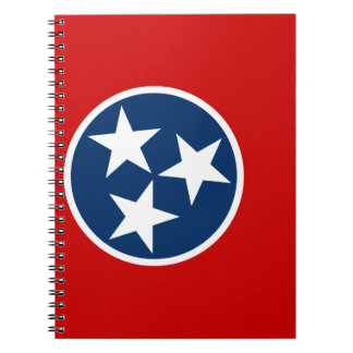 Flag Of Tennessee Notebook