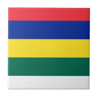 Flag of Terschelling Tile
