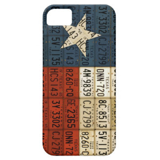 Flag of Texas Lone Star State License Plate Art Case For The iPhone 5