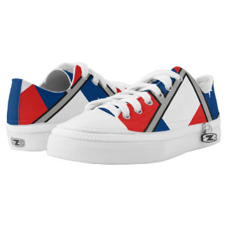 Flag of Texas Low-Top Sneakers