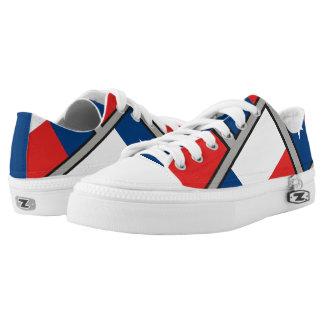 Flag of Texas Low-Top Sneakers