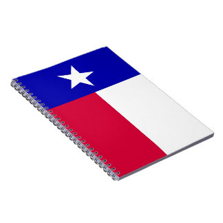 Flag of Texas Notebook