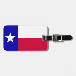 Flag of Texas Personalized Luggage Tag