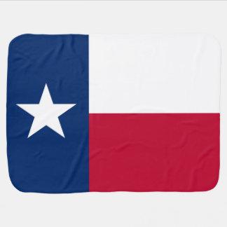 Flag of Texas Stroller Blankets