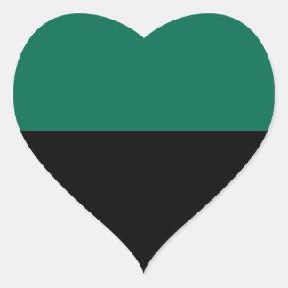 Flag of Texel Heart Sticker