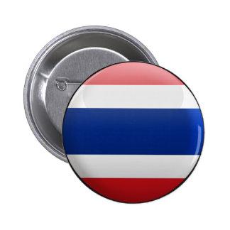 Flag of Thailand 2 Inch Round Button