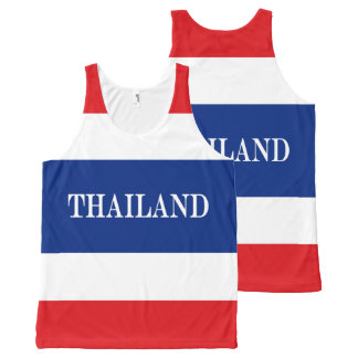 Flag of Thailand All-Over-Print Tank Top