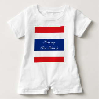Flag of Thailand Baby Romper