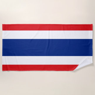 Flag of Thailand Beach Towel