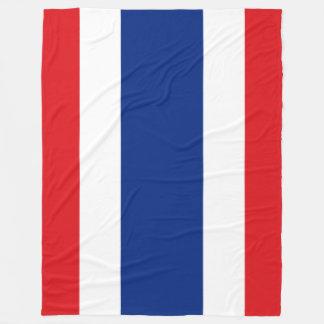Flag of Thailand Fleece Blanket