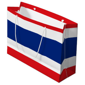 Flag of Thailand Large Gift Bag