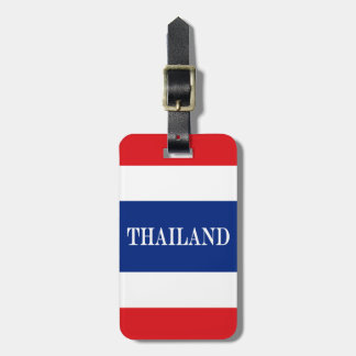 Flag of Thailand Luggage Tag