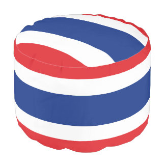 Flag of Thailand Pouf