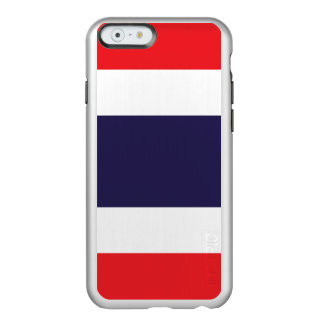Flag of Thailand Silver iPhone Case