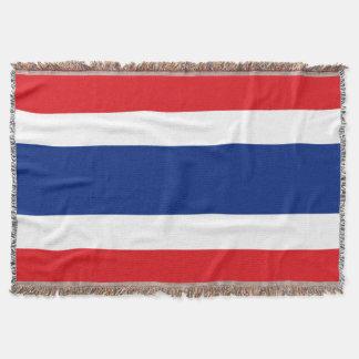 Flag of Thailand Throw Blanket