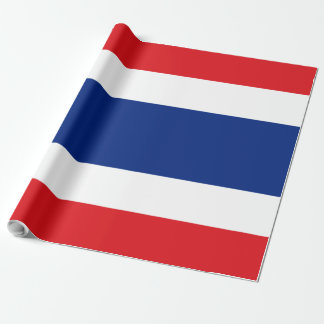 Flag of Thailand Wrapping Paper