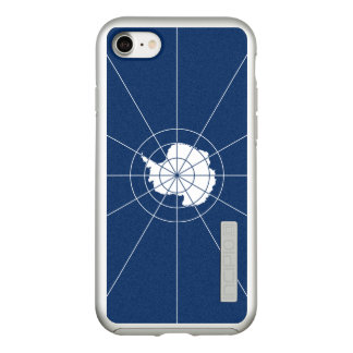 Flag of the Antarctic Treaty Silver iPhone Case