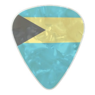 Flag of the Bahamas Guitar Picks