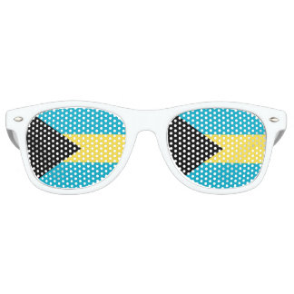 Flag of The Bahamas Party Sunglasses