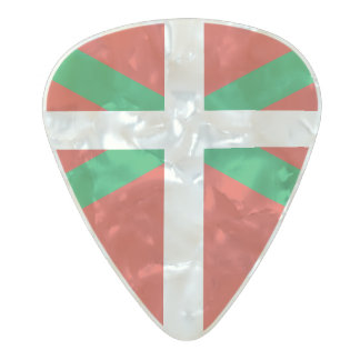 Flag of the Basque Country Guitar Picks