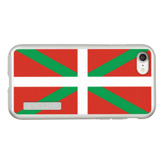 Flag of the Basque Country Silver iPhone Case