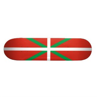 Flag of the Basque Country Skateboard Deck