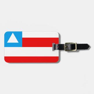 Flag of the Brazil Bahia Bag Tag