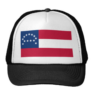 Flag of the Confederate Army of Northern Virginia Trucker Hat