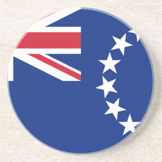 Flag_of_the_Cook_Islands Beverage Coasters