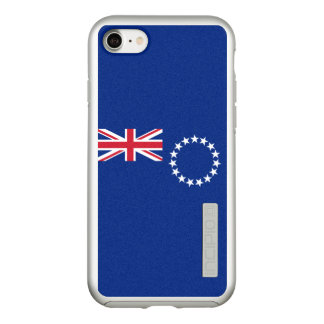 Flag of the Cook Islands Silver iPhone Case