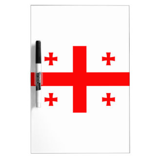 Flag Of The Country Of Georgia Dry-Erase Whiteboard