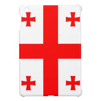 Flag Of The Country Of Georgia iPad Mini Case