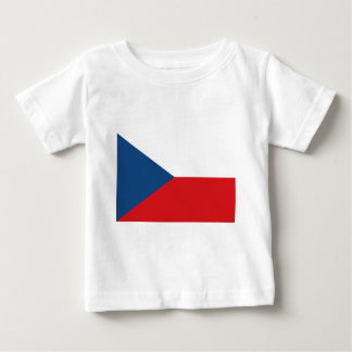 Flag_of_the_Czech_Republic Baby T-Shirt