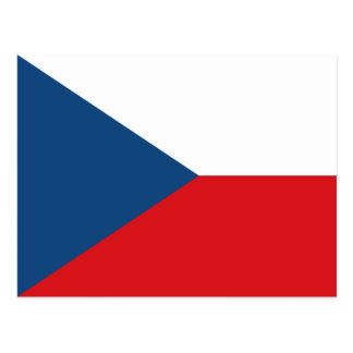 Flag of the Czech Republic - Česká vlajka Postcard