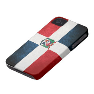 Flag of the Dominican Republic Case-Mate iPhone 4 Cases