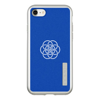 Flag of the Earth Silver iPhone Case
