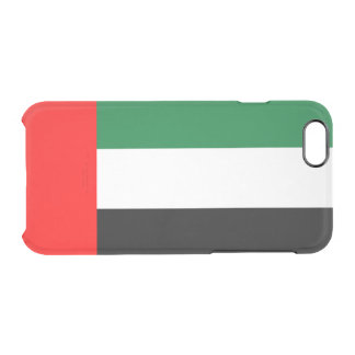 Flag of the Emirates Clear iPhone Case