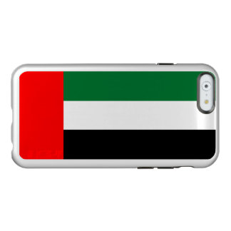 Flag of the Emirates Silver iPhone Case