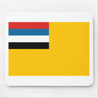 Flag of the Empire of Manchukuo 滿洲國; 满洲国; 滿洲国 Mouse Pad