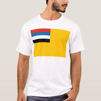 Flag of the Empire of Manchukuo 滿洲國; 满洲国; 滿洲国 T-Shirt