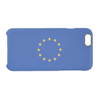 Flag of the European Union Clear iPhone Case