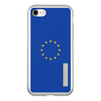 Flag of the European Union Silver iPhone Case