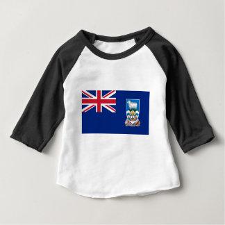 Flag of the Falkland Islands - Union Jack Baby T-Shirt