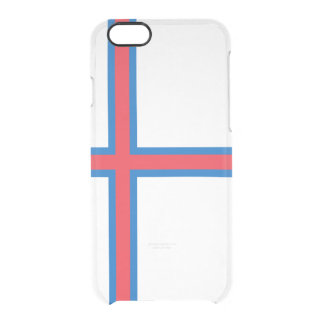 Flag of the Faroe Islands Clear iPhone Case