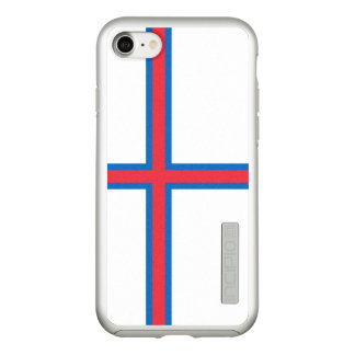 Flag of the Faroe Islands Silver iPhone Case