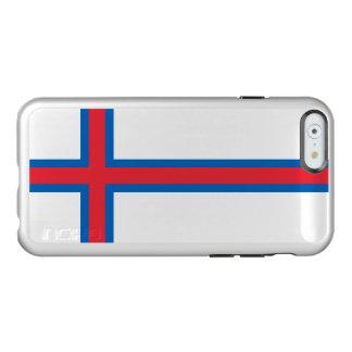 Flag of the Faroe Islands Silver iPhone Case Incipio Feather® Shine iPhone 6 Case